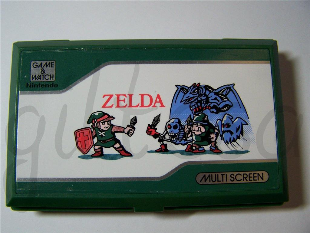 Zelda, Game and Watch