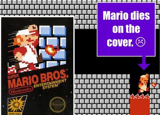 Mario dies